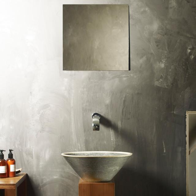 High end stone bathroom sink by maestrobath modern for High end bathroom sink