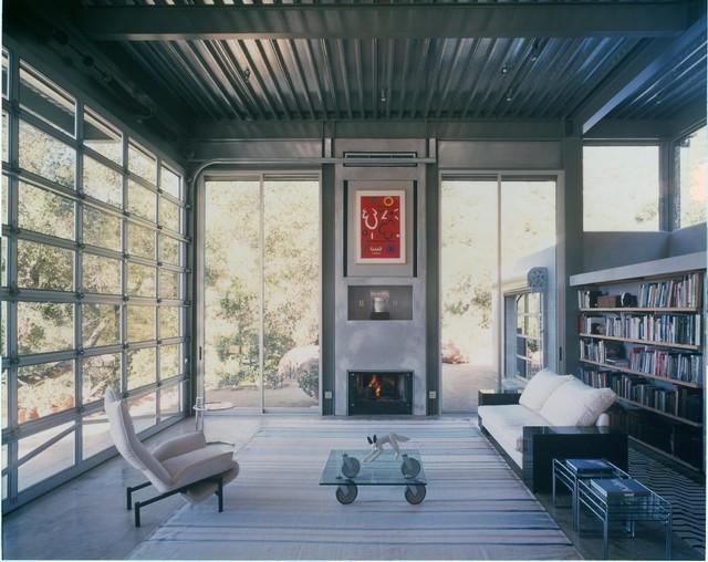Arm-R-Lite Barton Myers Aluminum and Glass Sectional Garage Door - Modern - Garage Doors And ...