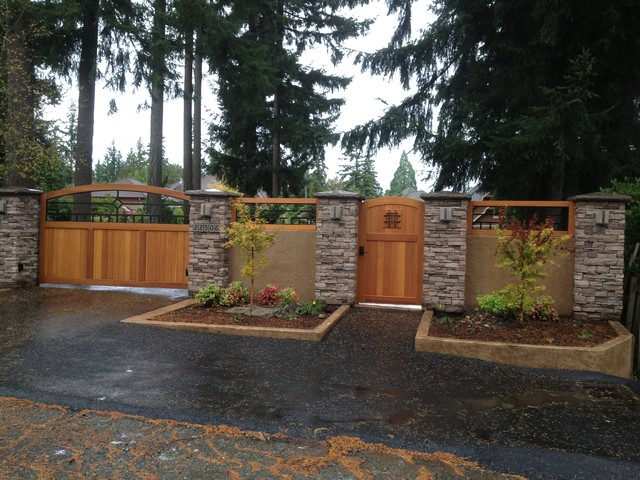 ... Fence Ideas as well Front Yard Fences Design Ideas. on ideas for