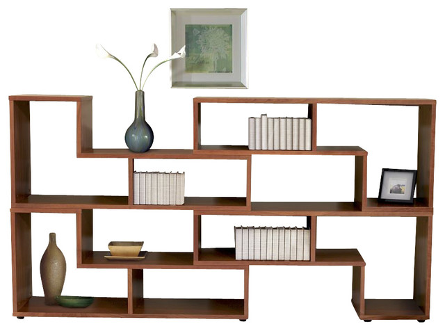 Jesper Entertainment Collection Expando Bookcase, Cherry - Contemporary - Bookcases - by ...