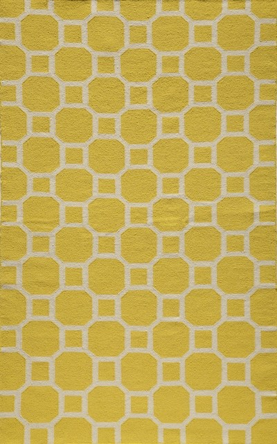 Laguna lemon contemporary geometric 8 39 x 10 39 momeni rug by for Geometric print area rugs