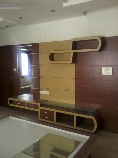 T V Unit Cum Dressing Table Modern Bedroom Other