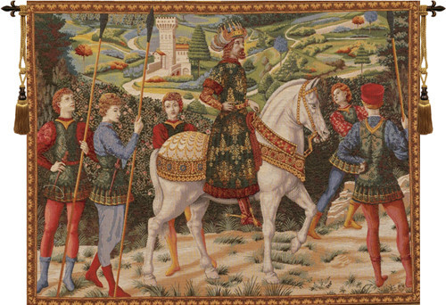 """Melchiori, European Wall Tapestry, 42""""x58"""" - Traditional ..."""