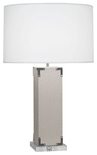 robert abbey mary mcdonald spence table lamp with silver accents