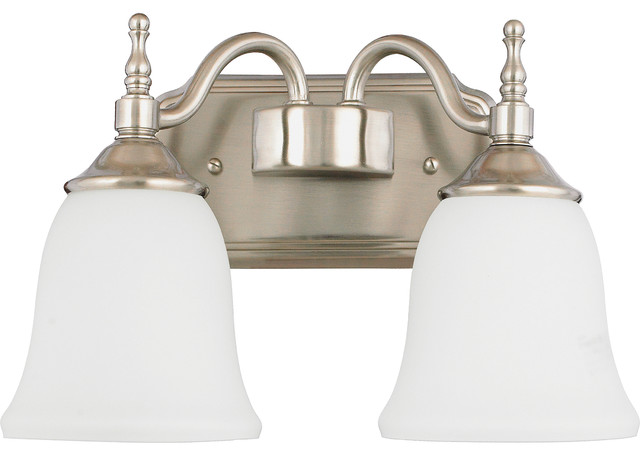Bathroom Vanity Lights Traditional : Quoizel Tritan Bath Light - TT8742BN - Traditional - Bathroom Vanity Lighting - by Better Living ...