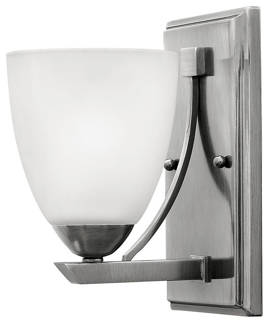 New  Appealing Transitional Look Pairs A Gleaming Finish With Square Glass Diffusers For Warm Lighting This Bathroom Wall Light Features A Polished Chrome Finish And Opal Etched Glass Can Be Installed Facing Up Or Down A Decorative Design