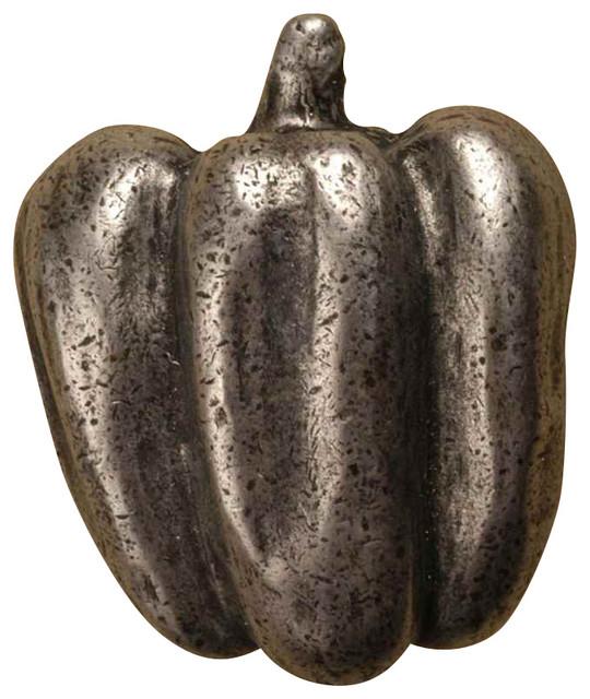Bell Pepper Knob (Set Of 10) (Antique Gold)