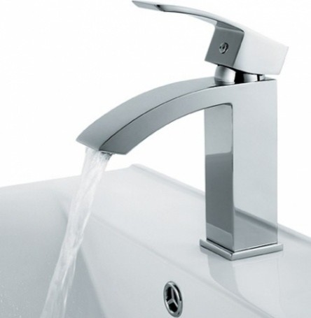 Chic Style Single Hole Bathroom Sink Faucet Modern Bathroom Sink