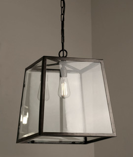 large tapered box lantern traditional outdoor hanging lights