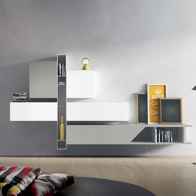 Modern Italian TV Unit By Santarossa