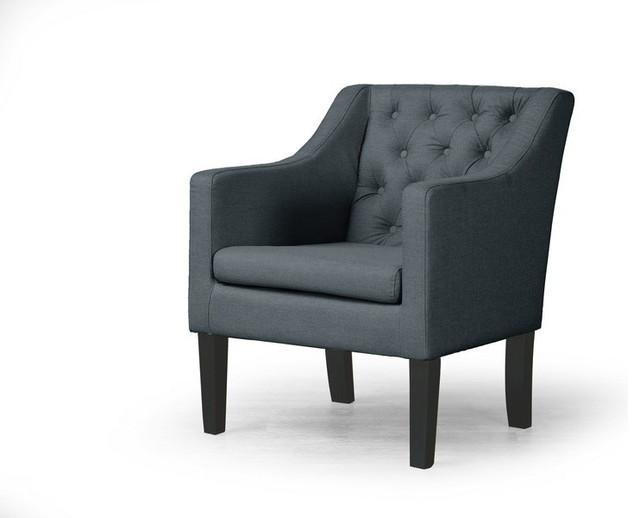 Baxton Studio Brittany Club Chair Transitional