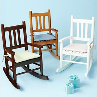 6. ... / Vintage Wooden Childs Kids Rocking Chair Bedroom Playroom .