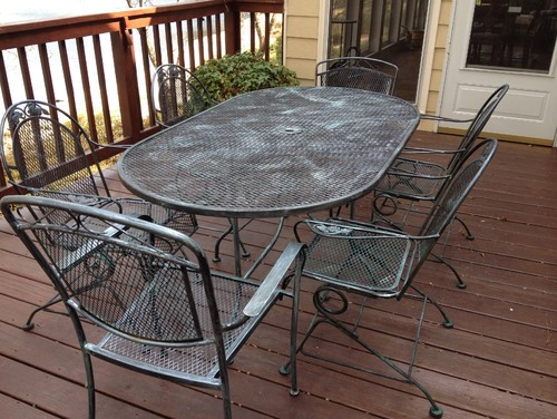 Paint Color For Outdoor Patio Set