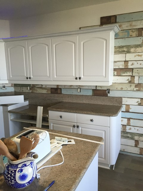 Beach Condo Remodel Beach Style Kitchen Other Metro By Creative Floor