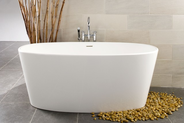 Ove bathtub bov01 66 contemporary bathtubs montreal by wetstyle - Contemporary corner soaking tubs ...
