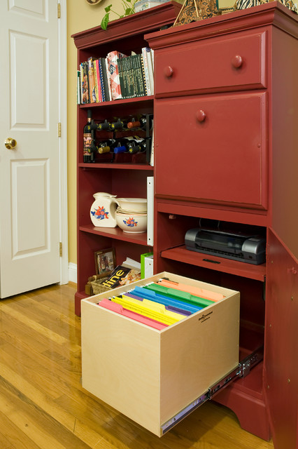 Pull Out File Box - Cabinet And Drawer Handle Pulls - omaha - by ShelfGenie of Omaha