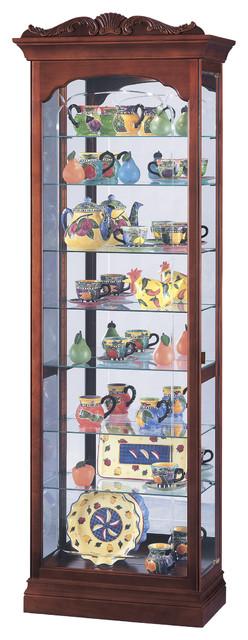 Howard Miller Hastings Curio Cabinet - Wall Clocks - by Howard Miller
