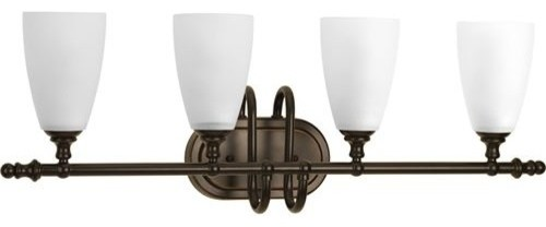 Bathroom Vanity Lights Point Up Or Down : Progress Lighting P207720 Revive 4 Light Bath Vanity Antique Bronze - Bathroom Wall Lights - by ...