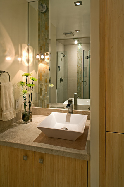 Best Small Bath Of The Year Sdhg Modern Bathroom San Diego By Design Studio West