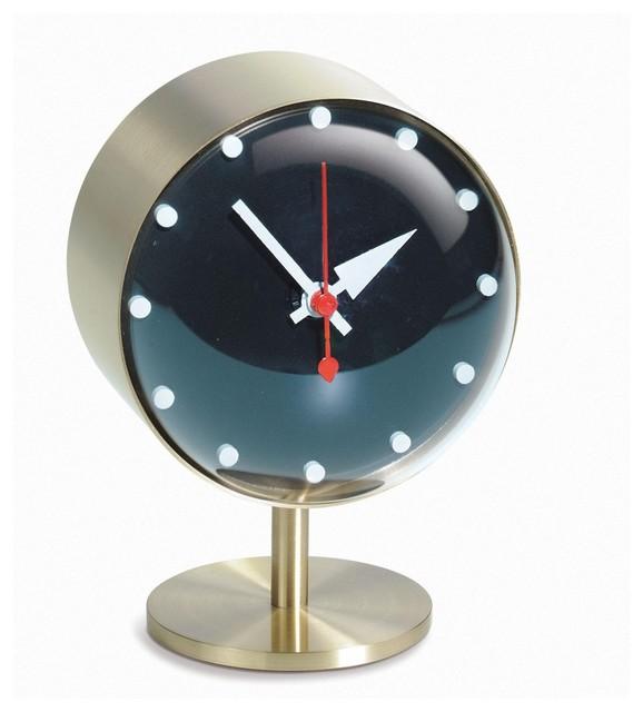 night clock nelson tischuhr minimalistisch tischuhren. Black Bedroom Furniture Sets. Home Design Ideas
