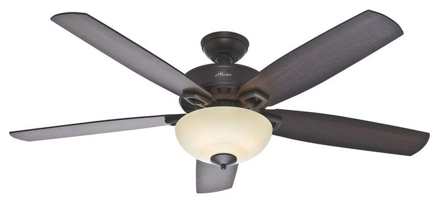Hunter Ceiling Fans Groveland 60 in Premier Bronze