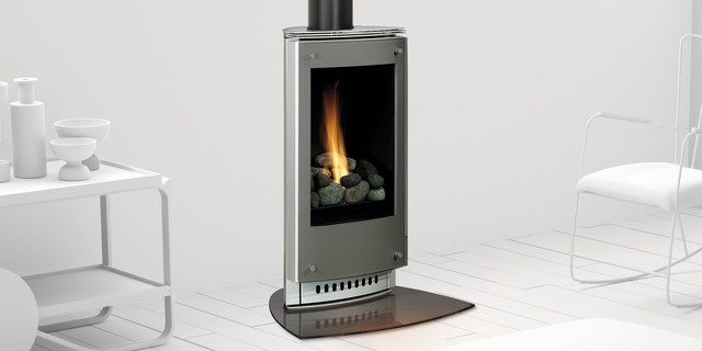 Paloma Gas Stove Modern Freestanding Stoves Minneapolis By Heat Glo Fireplaces