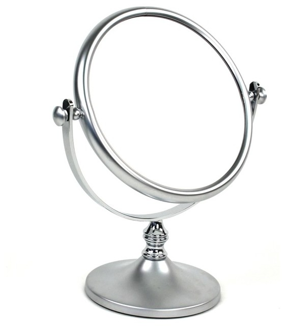 Countertop Double Face Magnifying Mirror Contemporary
