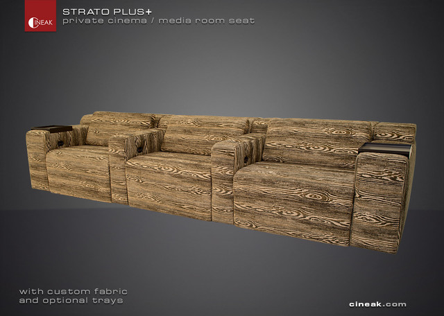 CUSTOM STRATO plus+ modulur sofa - Eclectic - by CINEAK luxury seating