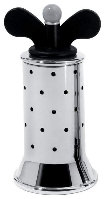 Alessi michael graves pepper mill modern salt and for Alessi salt and pepper shakers