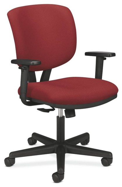 hon volt task chair with arms contemporary office chairs