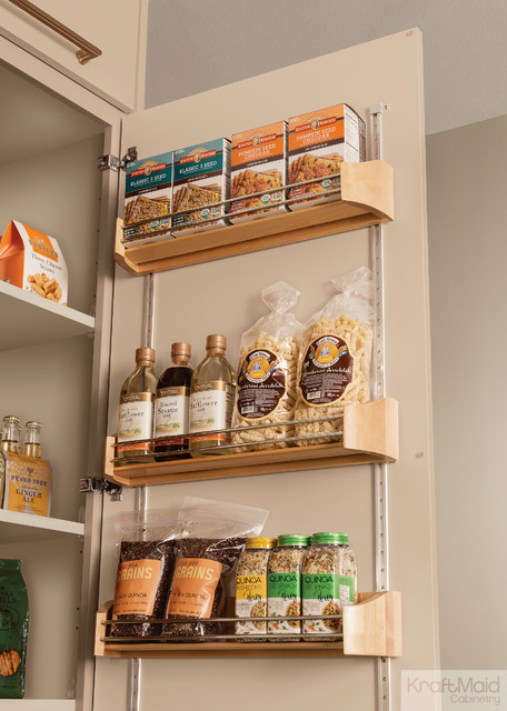 Kraftmaid Wood Tall Door Storage Kit Pantry And Cabinet Organizers Detroit By Kraftmaid
