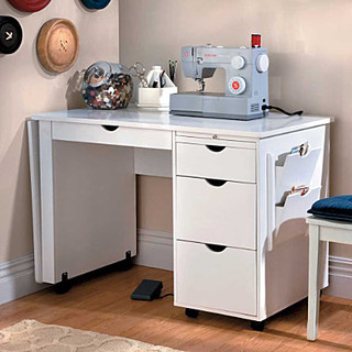 Sewing Table - Contemporary - Nightstands And Bedside Tables - by Improvements Catalog