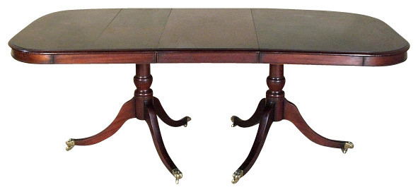 casters for antique dining table 3