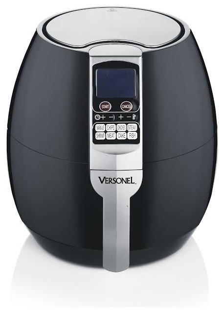 Versonel Smart Health Oil Free Lcd Air Fryer With Rapid
