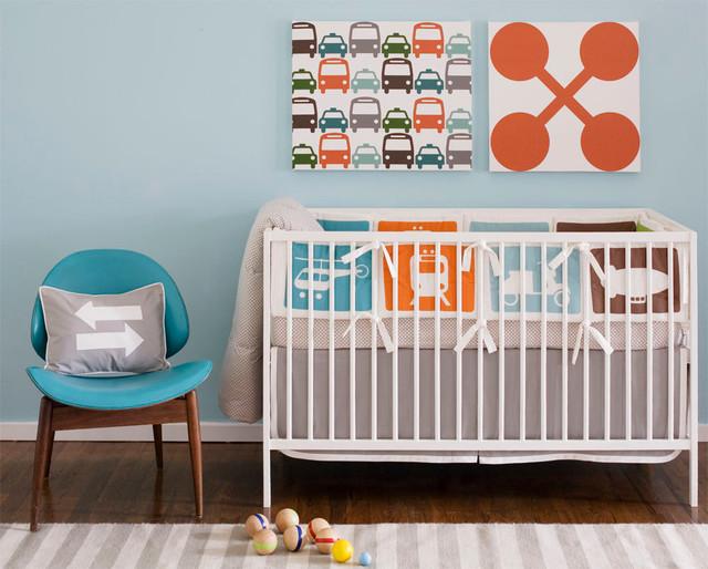 Dwell Transportation Crib Set