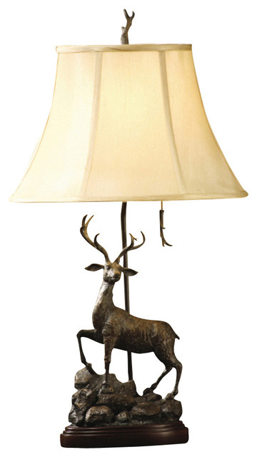 Crestview Collection CVAQP318 Deer Point Accent Lamp - Contemporary - Table Lamps - by Lighting ...