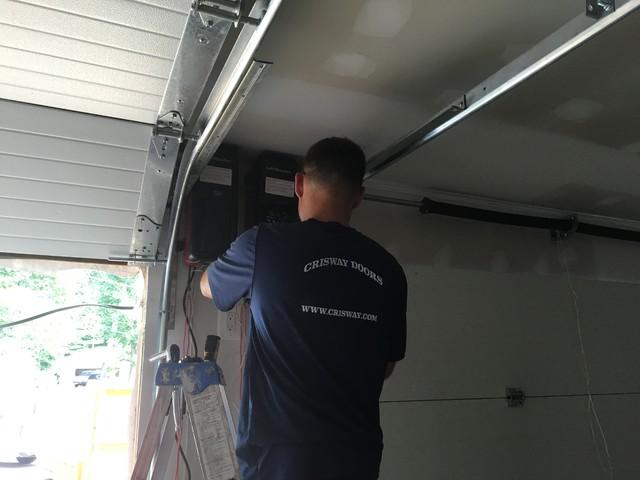 Garage Door Wall Mount Motor Installation