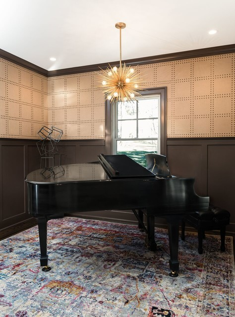 Piano Room - Eclectic - new york - by Cory Connor Designs