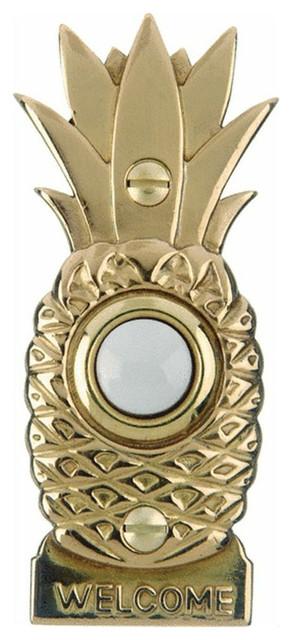 Carlon Dh1670l Pineapple Design Door Bell Pushbuttons