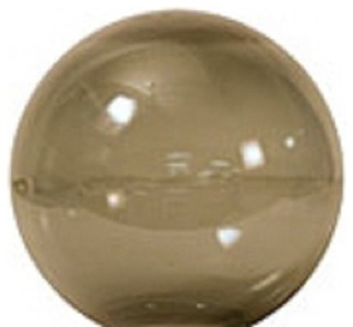 Neckless 8 Quot Smoke Acrylic Replacement Globe With 3 5