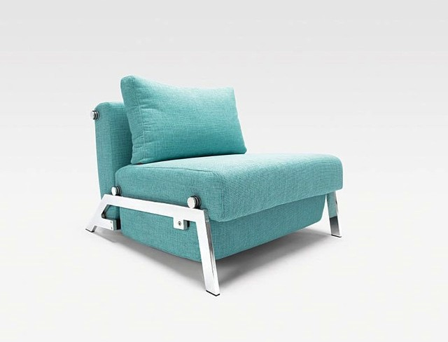 Cubed Sleek Chair Bed Modern Armchairs And Accent