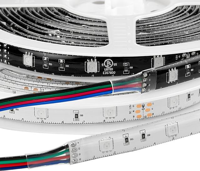 High Power RGB LED Weatherproof Flexible Light Strips - WFLS-RGB - Contemporary - Undercabinet ...