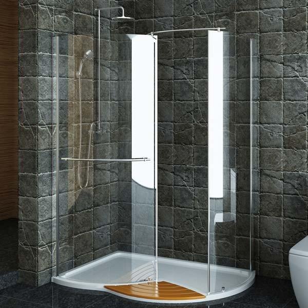 Technik Right Hand Walk In Shower Enclosure 1430 X 940 Modern Shower Encl