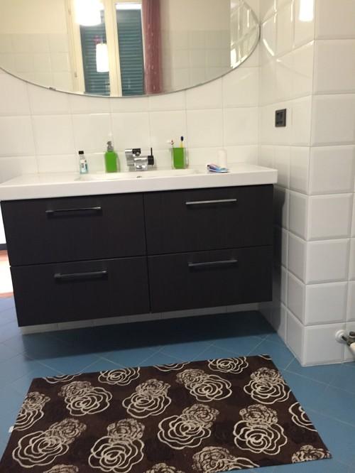 Idee x arredare questo bagno?