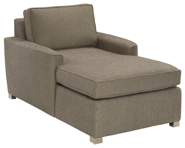 Harmony Chaise Lounge in Hobnob Biel Transitional Indoor Chaise Lounge Ch