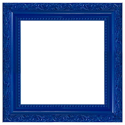 solid wood ornate blue photo picture frame. Black Bedroom Furniture Sets. Home Design Ideas