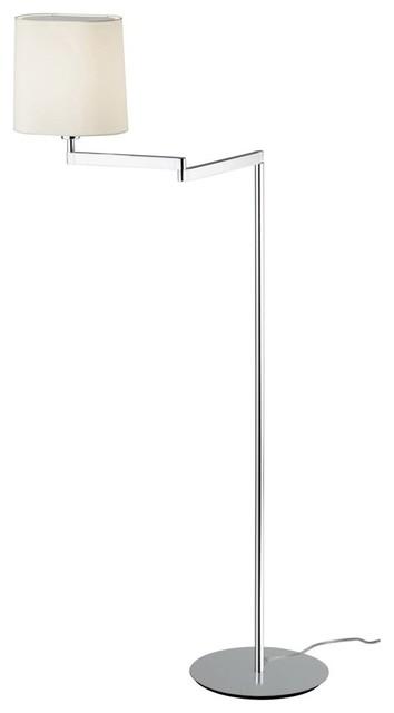swing floor lamp modern floor lamps by olighting. Black Bedroom Furniture Sets. Home Design Ideas