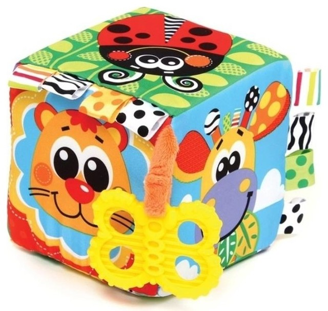 Squeek fun friends activity block contemporary baby and toddler