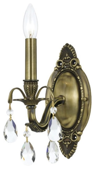 Dawson 12 In Wall Sconce In Antique Brass Traditional