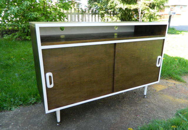 Mid Century Inspired Tv Stand Entertainment Center Modern Furniture Portland By Orwa Designs